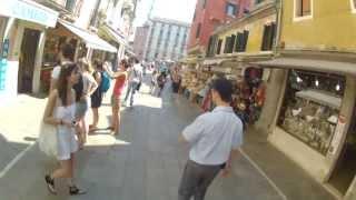 Путевые заметки.Европа,июнь 2013:Прогулка по Венеции(И снова - Венеция ;) На этот раз - прогулка по самому городу с висящей на голове камерой GoPro HERO2 :) И кому интерес..., 2013-07-10T08:34:19.000Z)