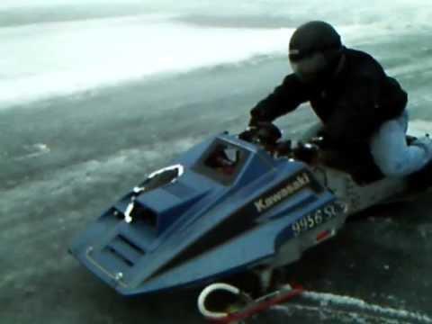 Kawasaki Snowmobile Track