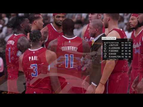 NBA 2K16 MyTeam Me vs Clippers Pt 2