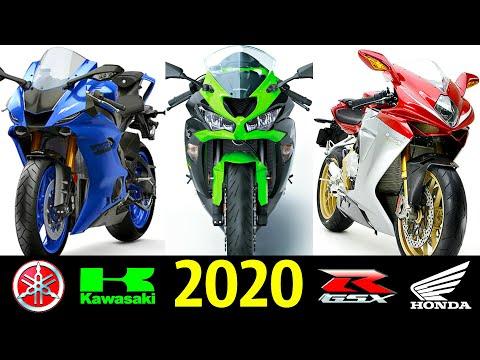 🚀 Лучшие СпортБайки (600сс) - 2020 ✌!