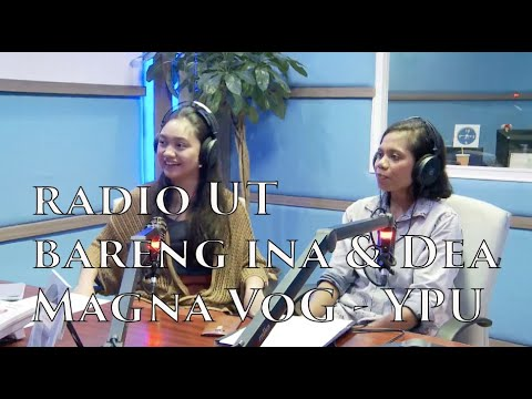 Berkarya dengan Menjunjung Budaya  -  Radio Interview with Akilina Elu Uda & Priscilla Joanita