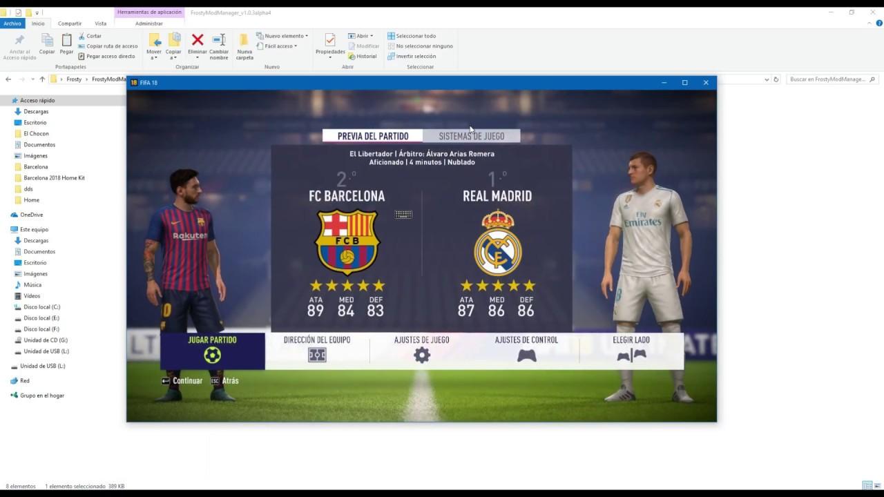 FIFA 18 - Instalacion de Mod [Frosty Mod Manager]