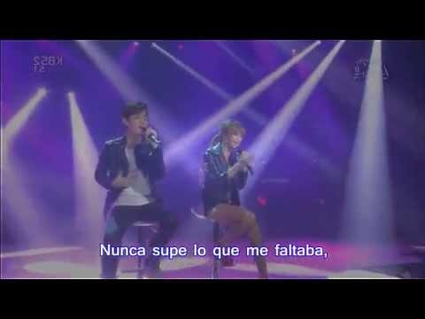 Love - Hyolyn x JooYoung Sub Español (Cover by Keyshia Cole)