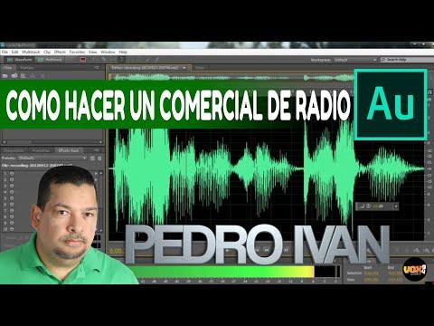 Como hacer un comercial de radio en ADOBE AUDITION