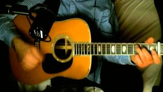 Des Bises De Moi Pour Toi ~ Claude Francais (From Me To You - The Beatles) ~ Cover w/ Martin D-45