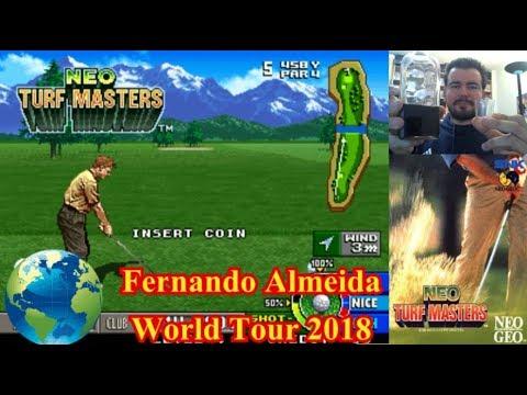 FERNANDO ALMEIDA WORLD TOUR 2018 || Neo Turf Masters (NEOGEO) || Gameplay en Español