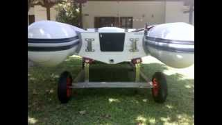 Boat Launching Trolley (cart) With 4 Wheels.