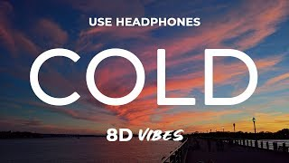 Boy In Space x unheard - Cold (8D AUDIO) 🎧