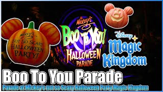 Boo To You Parade V2 Mickeys Not So Scary Halloween Party Magic Kingdom Walt Disney World 2012 HD