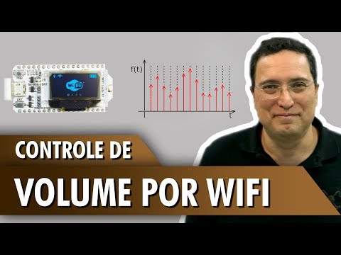 Controle de volume por WiFi