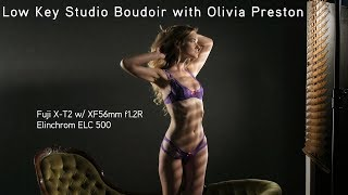 Low Key Studio Boudoir with Olivia Preston