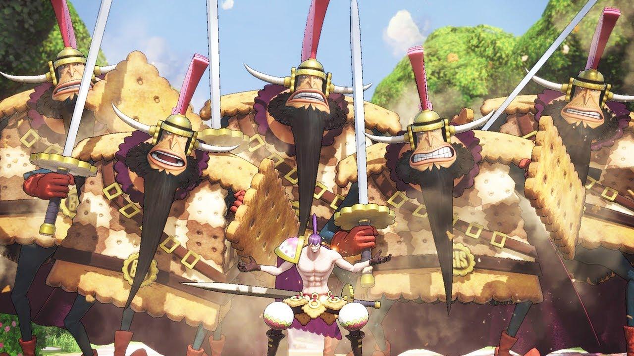 Siêu Mạnh Cracker Kẻ Sử Dụng Trái Ác Quỷ Bánh Quy Bisu Bisu - One Piece: Chiến Binh Hải Tặc 4 Tập 64