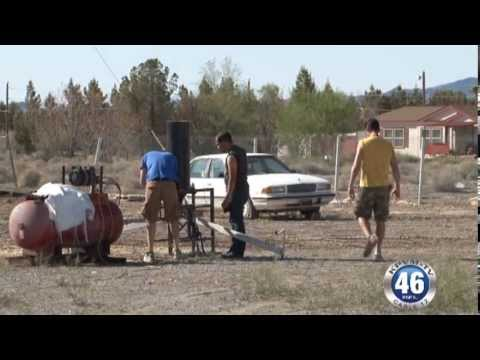 Coffee Creamer Explosion Nevada Public Auction Filming Part 2 04/01/2013