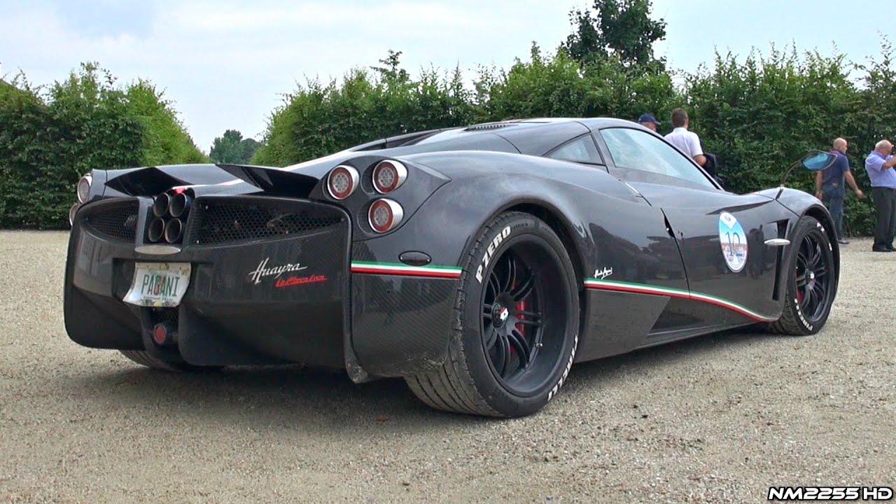 Pagani Zonda R Hd Wallpaper Pagani Huayra Quot La Monza Lisa Quot With Titanium Exhaust