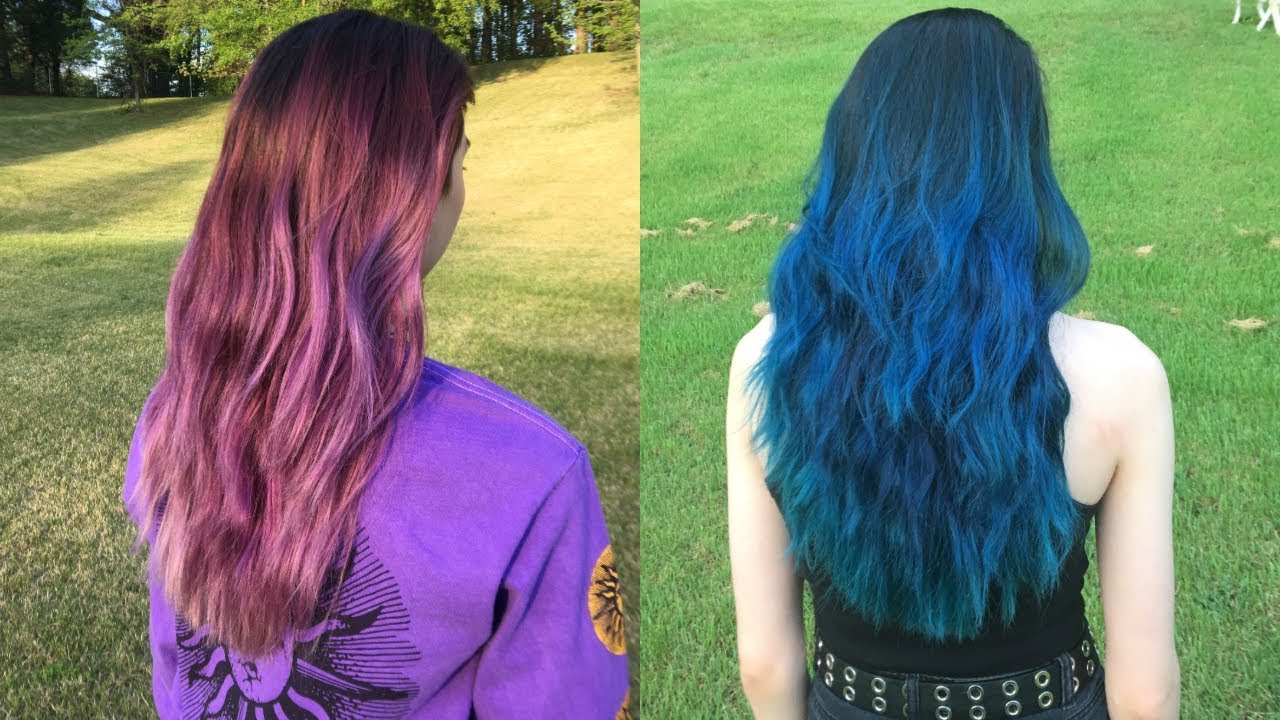 dark green hair turquoise without bleach dying my hair from purple to turquoise without bleach