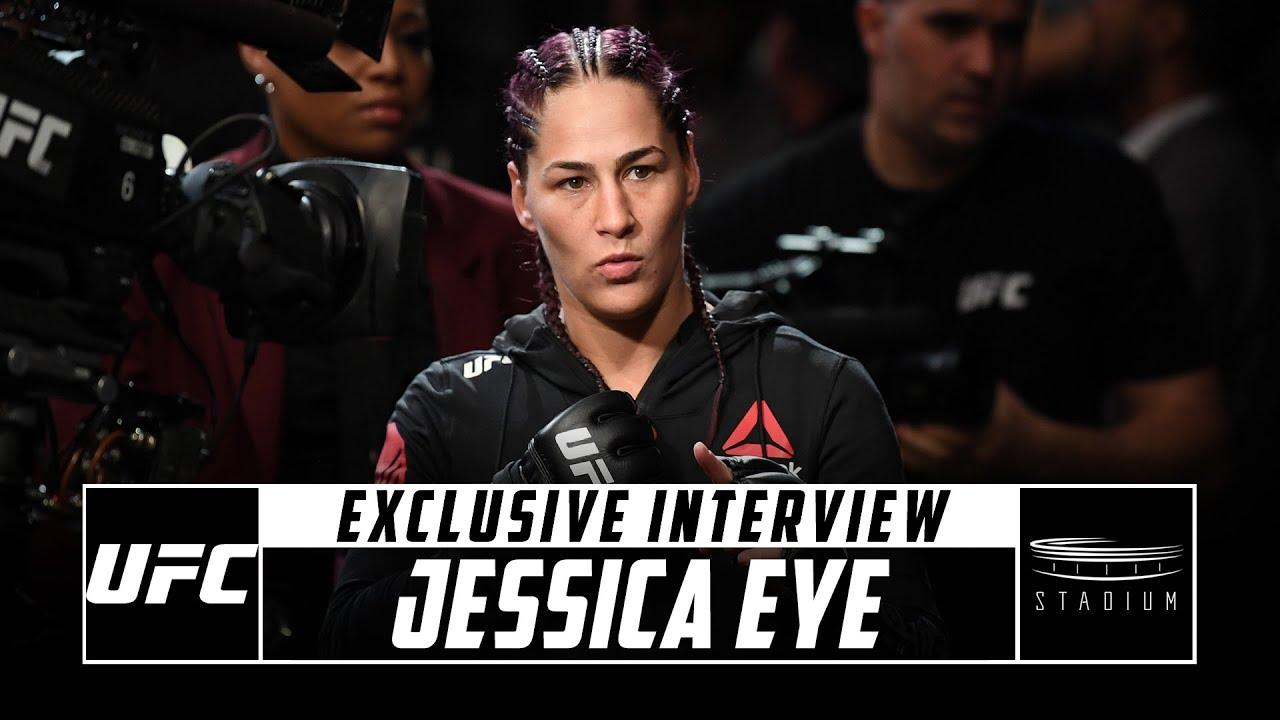 Jessica Eye Previews Her UFC 257 Fight Against Joanne Calderwood | Stadium