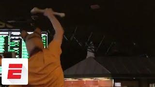 UMBC fan gets carried through Las Vegas sportsbook after historic upset over Virginia | ESPN