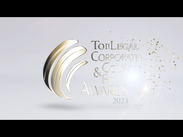 TopLegal Corporate Counsel & Finance Awards 2021