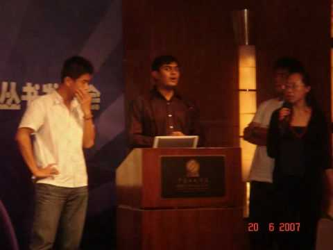 Ankit Fadia Ethical Hacking Seminar Corporate Representatives & College Students in Shanghai, China