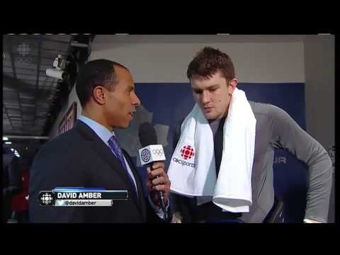 James van Riemsdyk: Celly Was a Response to Subban Chirping - Jan 18th 2014 (HD)