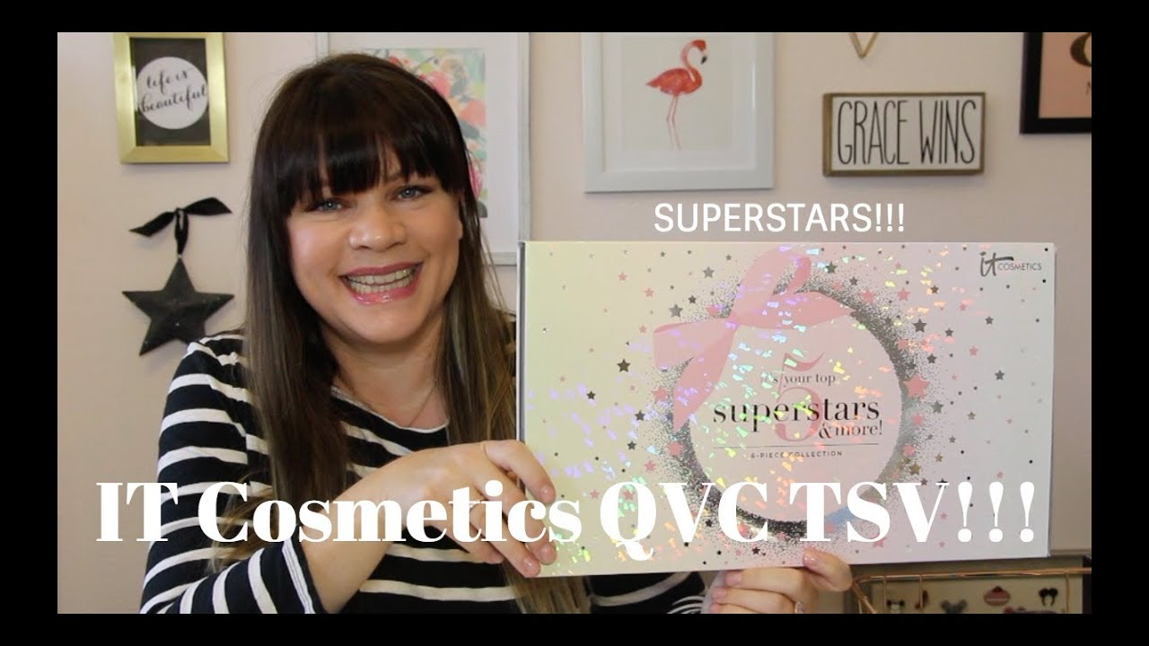 It Cosmetics Qvc Tsv 6 Piece Holiday Collection It S Your Top 5