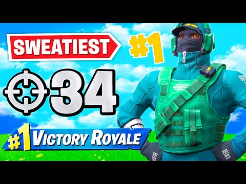 THE SWEATIEST PLAYER IN FORTNITE