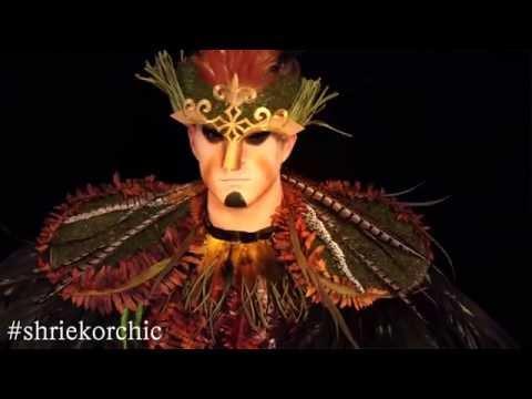 DIY Woodland Creature Halloween Costume & Makeup Tutorial