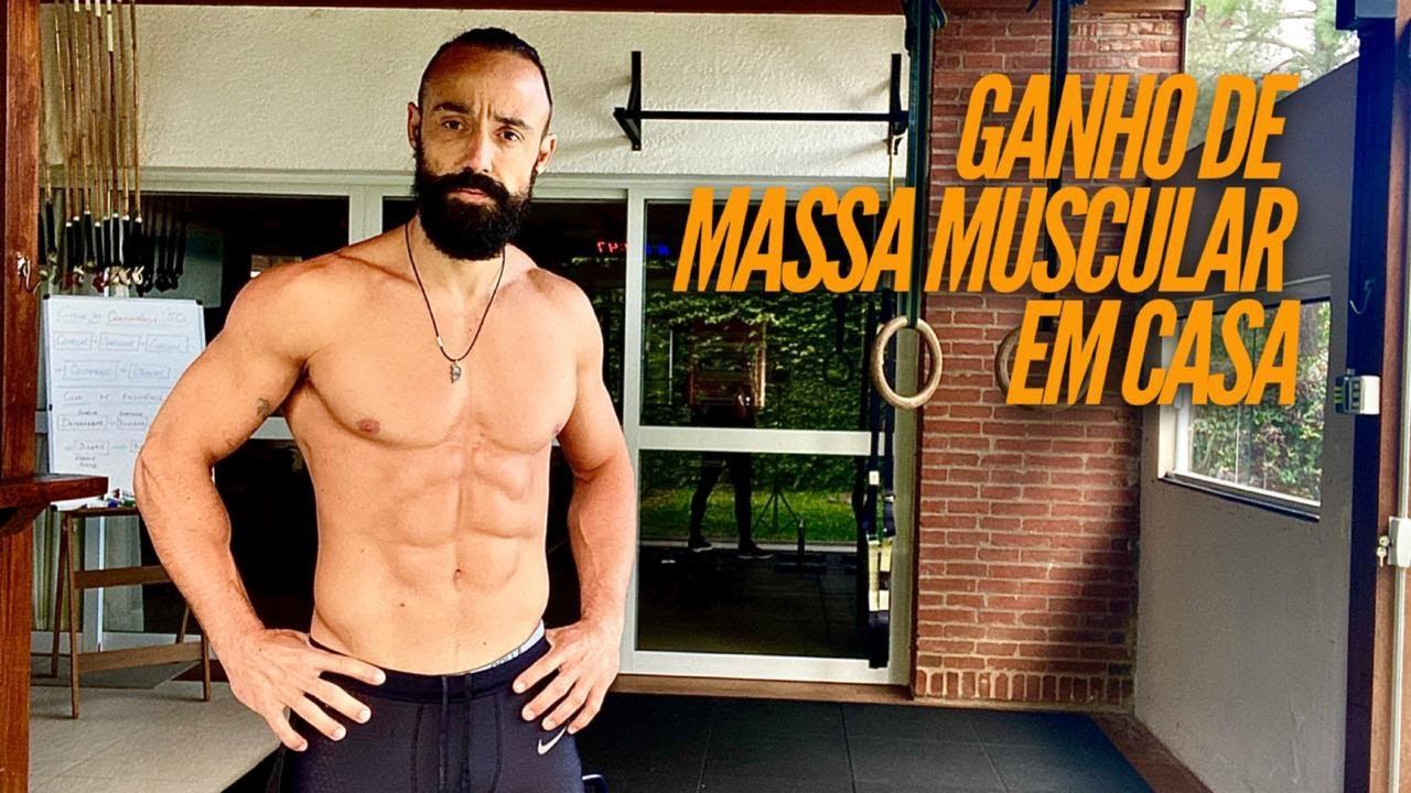 Ganho de massa muscular em casa