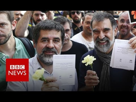 Catalonia referendum: Lawbreakers or Political Prisoners? - BBC News