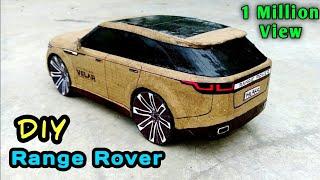how to make a Car from Cardboard Diy Mercedes Car  LKT89