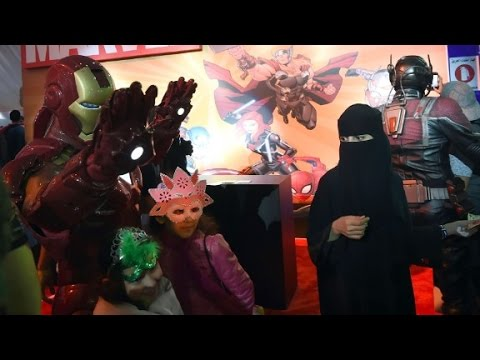 Saudi Arabia hosts its first Comic Con