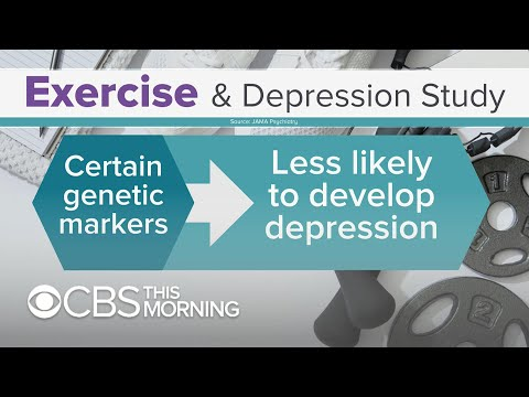 Exercise can reduce risk for depression, study finds