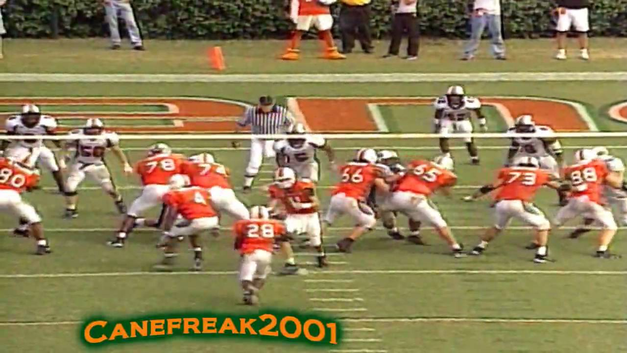 2001 miami hurricanes greatest football team of all time youtube. Black Bedroom Furniture Sets. Home Design Ideas