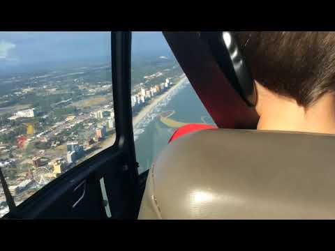 Helicopter ride over Atlantic Ocean (Myrtle Beach)