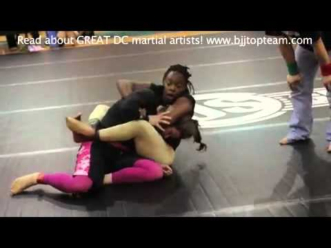 Jiu jitsu girl vs kung fu guy - 3 part 4