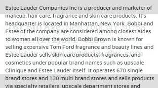 Estee Lauder Companies Inc Corporate Office Contact Information Thumbnail