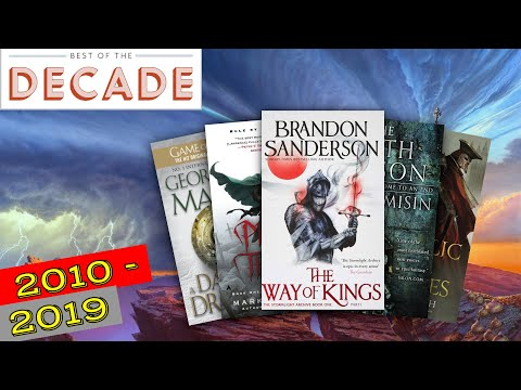 BEST FANTASY BOOKS OF THE DECADE: 2010's