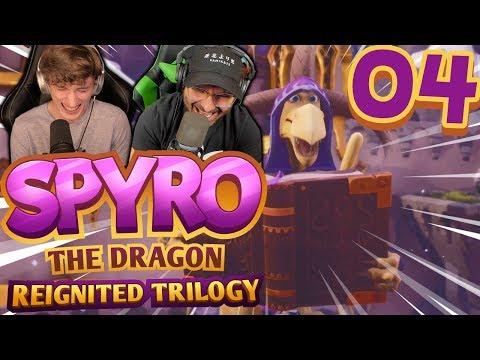 3 TIMES! | Spyro Reignited Trilogy Part 4: [Spyro the Dragon Co-Op]