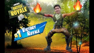 THE POWER OF THE WITHOUT SKIN!! Fortnite battle royale VichoSpain