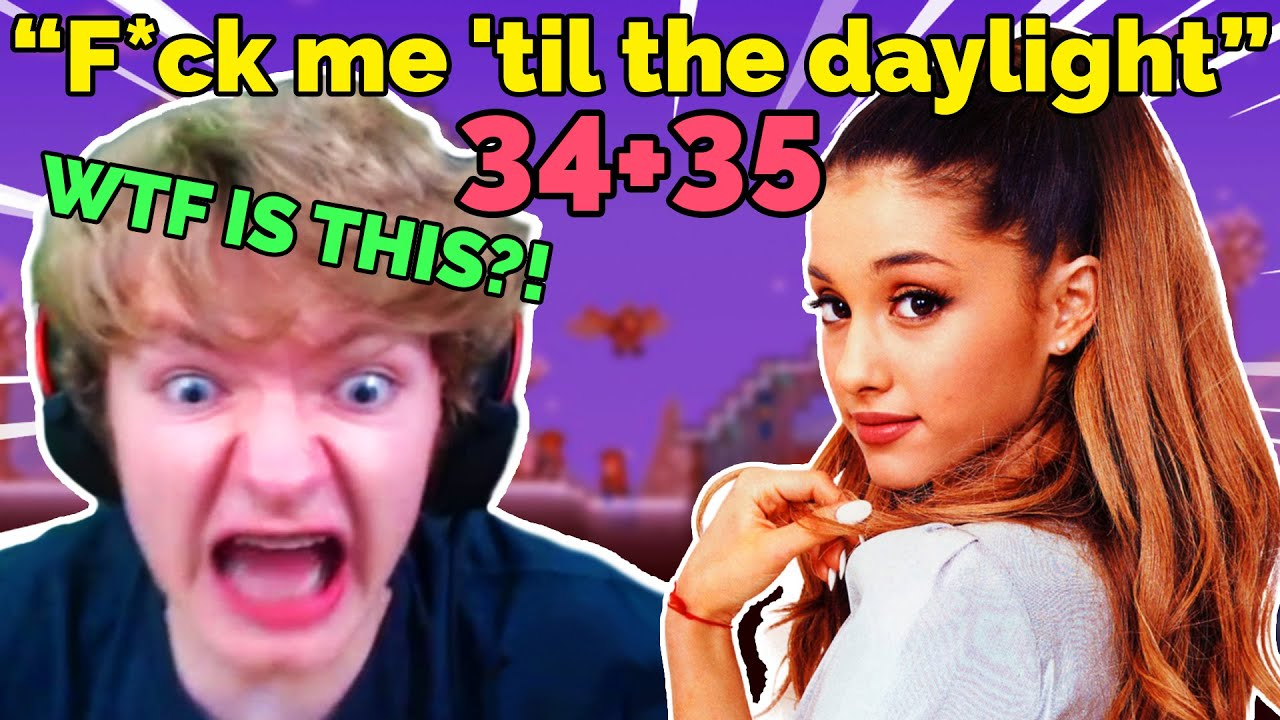 TommyInnit reacts to 34+35 by Ariana Grande