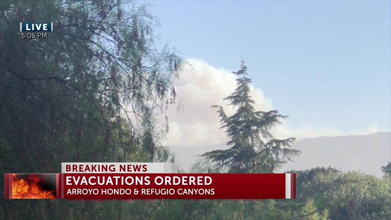 Photos: Alisal fire burns in Santa Barbara County