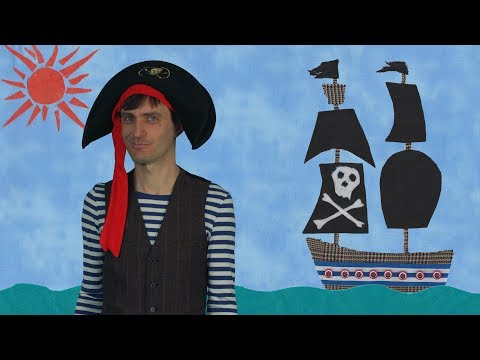 Captain Cod by Sparkysongs/Funny pirate song for kids/Twinkle Twinkle Little Star/sparky songs