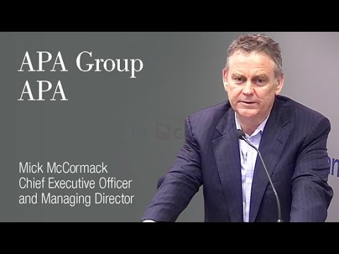 APA Group (ASX:APA): Mick McCormack, CEO & Managing Director