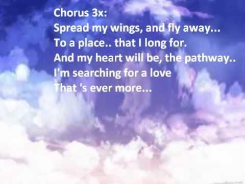 Troop - Spread My Wings Lyrics