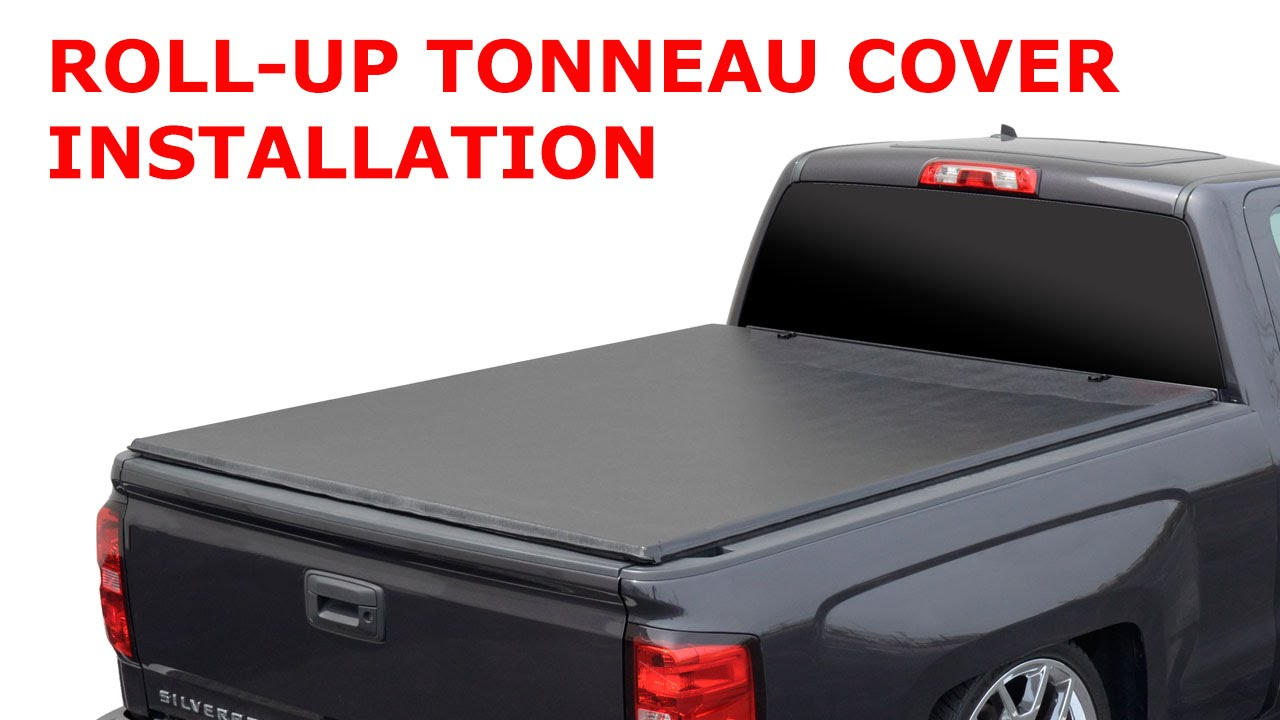 Roll-Up Tonneau Cover Installation by P-Direct - YouTube