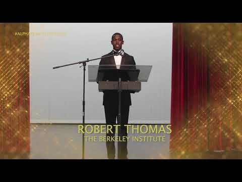 Robert Thomas Speech At Alpha Beautillion, July 19 2020