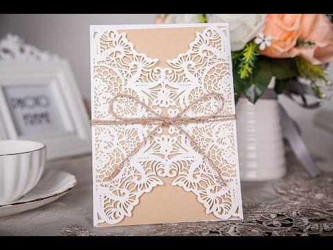 Hochzeitskarten Selber Basteln Youtube
