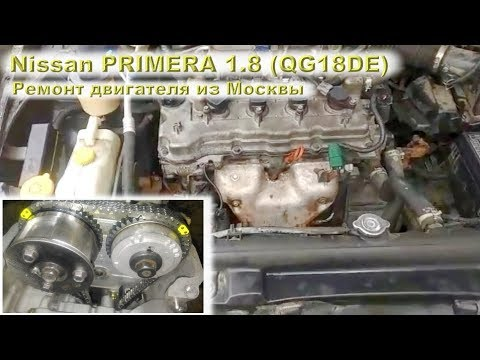 Nissan PRIMERA 2004 (QG18DE) 1.8L - Надёжный и простой мотор!
