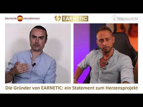 EARNETIC -  Die Gründer von EARNETIC: ein Statement zum Herzensprojekt - blaupause.tv