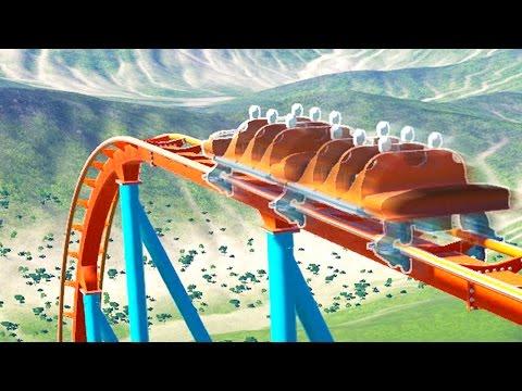 WORLD'S FASTEST ROLLER COASTER! (Planet Coaster #3)